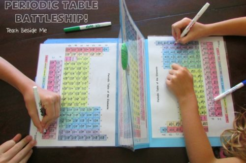 Introduce new concepts with fun and hands on methods!  Here are 5 ways to introduce the periodic table of elements for younger kids!