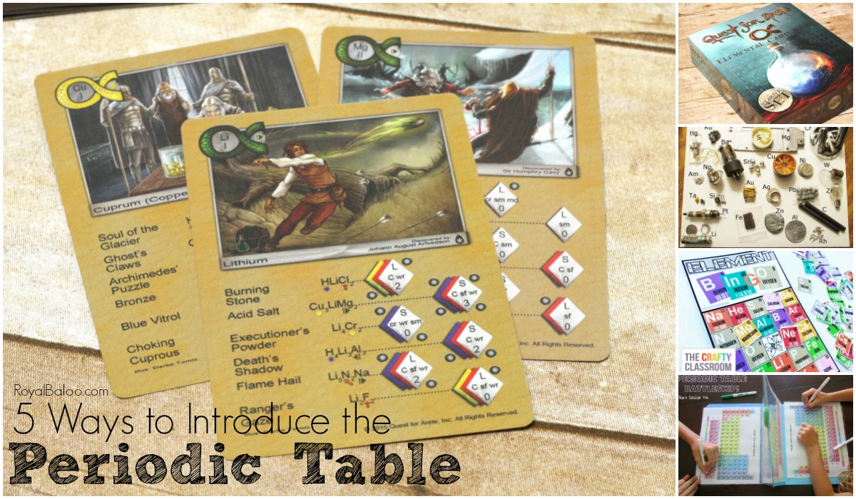 5 ways to introduce the periodic table of elements royal baloo gamestrikefo Images
