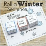 Silly Sentences: Winter Style!  Roll a Silly Winter Sentence