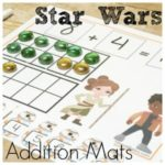 Star Wars Addition Mats for Math Fun