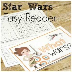 Learning to Read with Star Wars Easy Reader