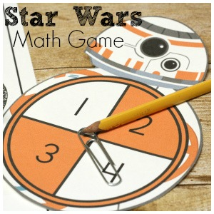Star Wars Addition and Multiplication Fact Game