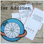 Space Addition Fun with Riddles and a Code Breaker