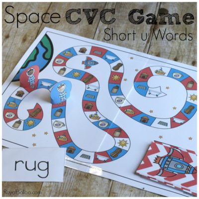 Space CVC Game for Out of This World Reading Fun
