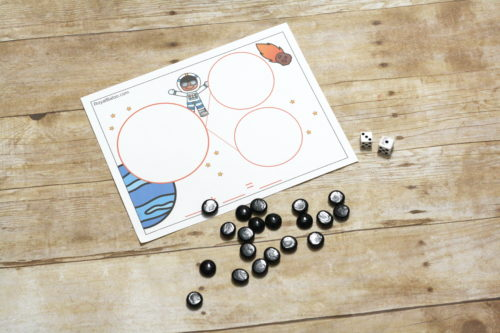 Space fact families combine addition and subtraction with space fun. Learning with space fact family mats is feels less like learning and more like fun.