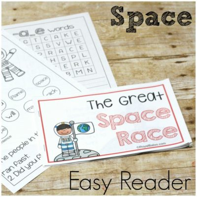 Learn to Read Silent E with a Space Easy Reader