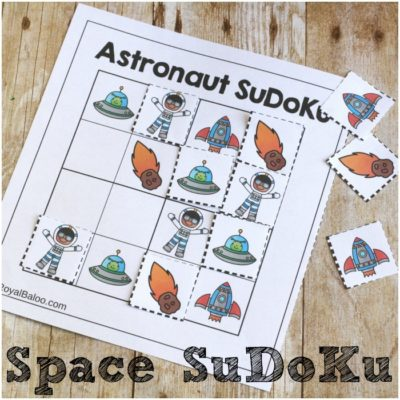 Space SuDoKu for Hands On Logic Fun