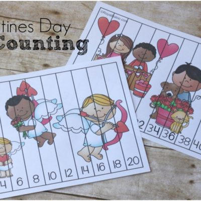 Valentines Skip Counting Printables
