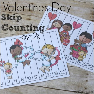 Skip Counting by 2s Fun for Valentines Day