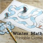 Make a Snowman Winter Multiplication and Addition Game