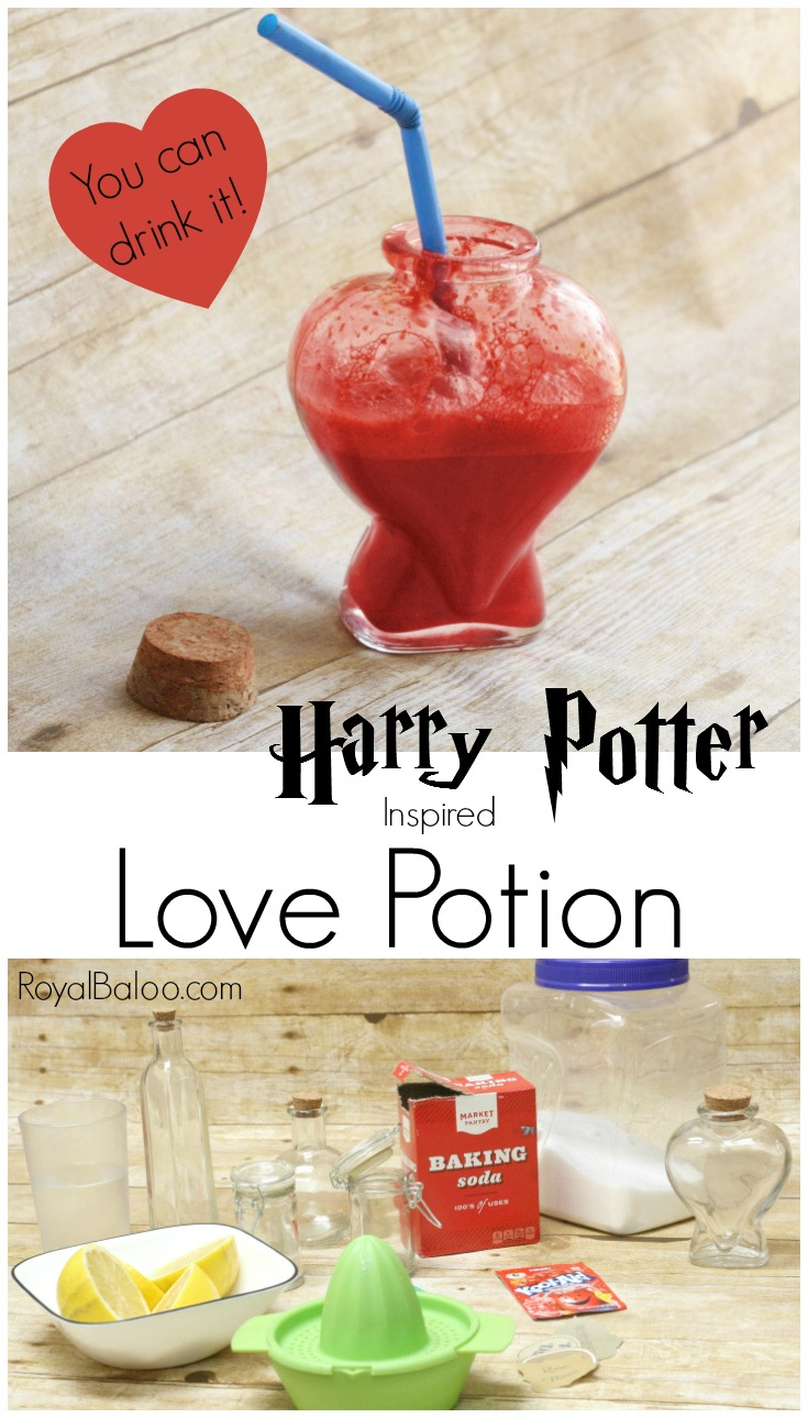 This Harry Potter love potion doubles as a science experiment and a yummy treat. Learn about acids and bases with a bit of potion making fun.