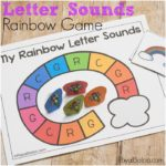 Rainbow Letter Sound Game for Preschool Fun