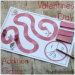 Fun Valentines Day Addition Game for Sums of 5 to 10