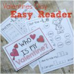 Who Is My Valentine Easy Reader Book for Reading Fun