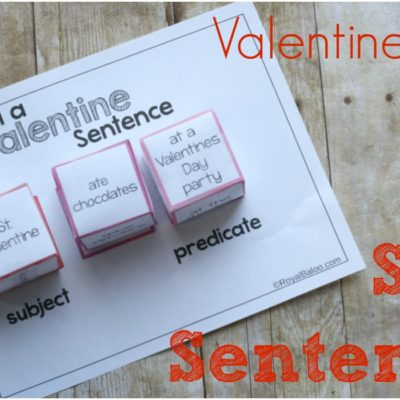 Valentines Day Silly Sentences