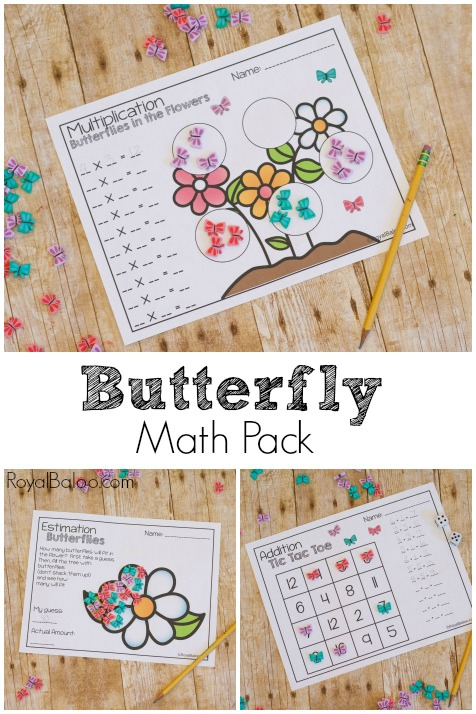Math is more fun with mini erasers that are butterflies! Butterfly math is so much better than regular math. Addition, multiplication, fractions, etc!