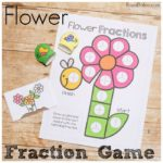 Flower Fraction Game for Fun Fraction Practice