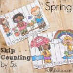 Skip Counting by 5s for Fun Spring Learning