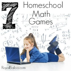 Homeschool Math Games for Math Fluency and Concepts