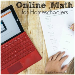Math can be hard to teach even for seasoned homeschoolers.  So why not let someone with math experience and a talent for teaching kids take over?