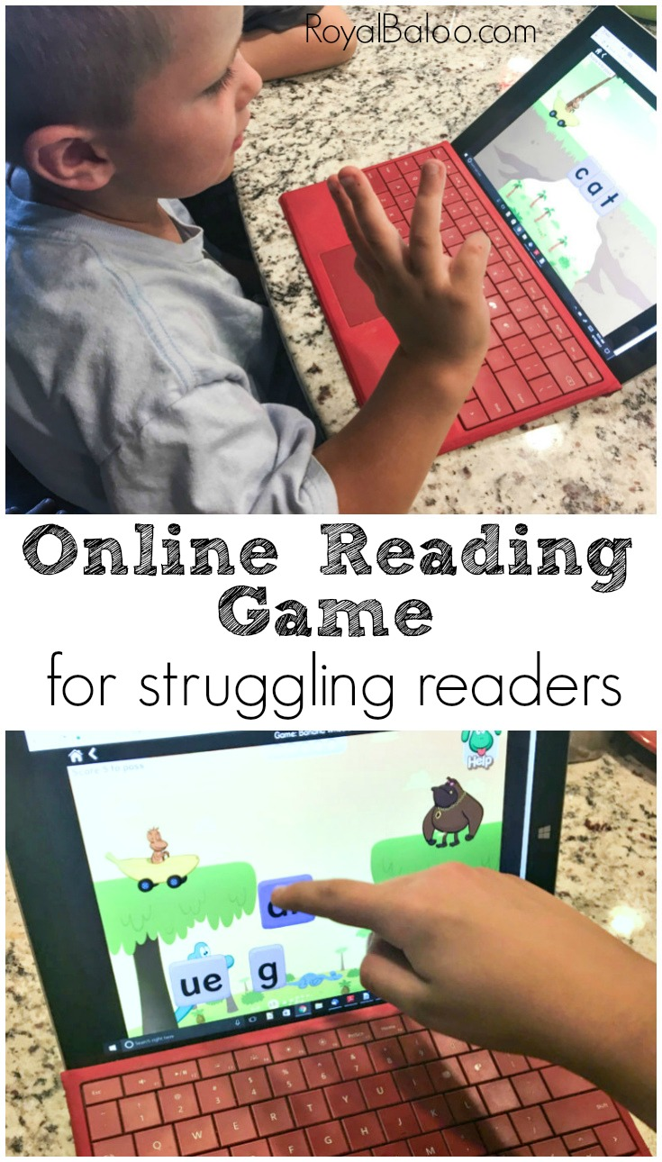 Struggling readers need fun reading games to help their reading. Nessy is an engaging and fun game that is perfect for struggling readers.