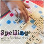 Scrabble Hack for Spelling Practice