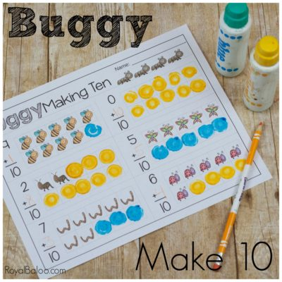 Fun Buggy math with Buggy Make 10 Addition