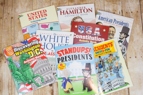 Bring homeschool history to life with Dover Publications books on American Presidents, States, Government, Constitution, and more. Great info, great books.