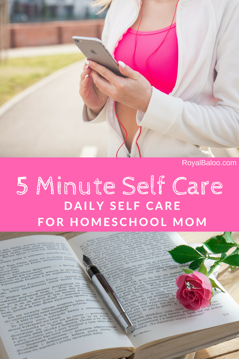 Finding time for self care is hard but if you can carve out just a few minutes a day, there is a self care activity that you can do for you!