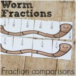Worm Fractions for Comparison and Beginning Fractions