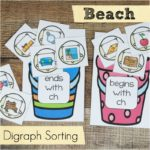 Beach Digraph Sorting for Beginning Readers