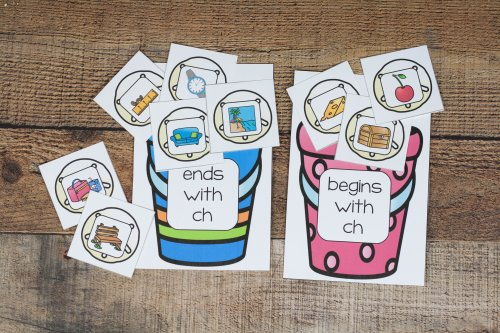 digraph pails with shells sorted