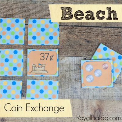 Fun Beach Money Games for U.S. Coins