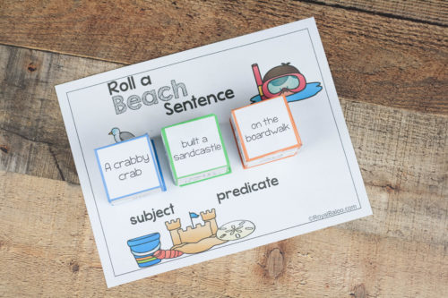 Put together some silly sentences and practice reading at the same time. These sentences are sure to entertain for fun reading!