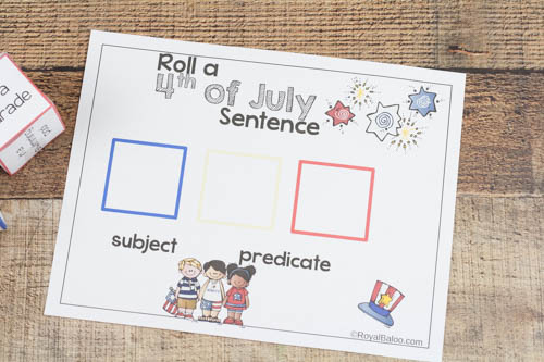 Reading practice is more fun when it's silly! Make some silly sentences, practice reading, and have fun all at the same time!