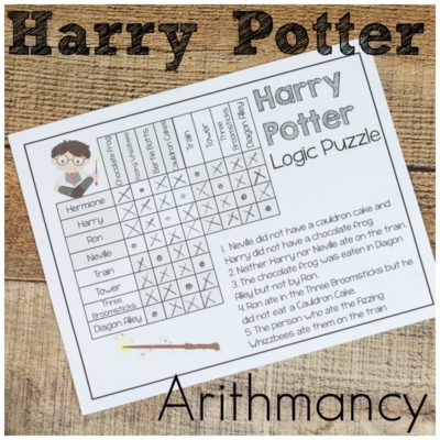 Harry Potter Arithmancy – Math and Logic Fun