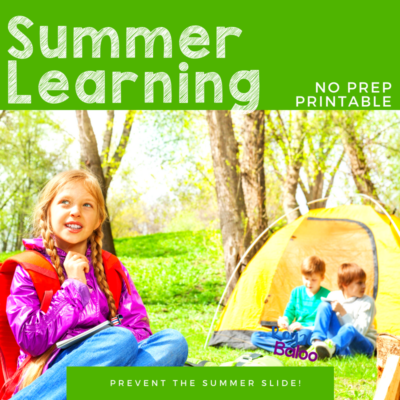 Combat the Summer Slide with Printable Summer Camps