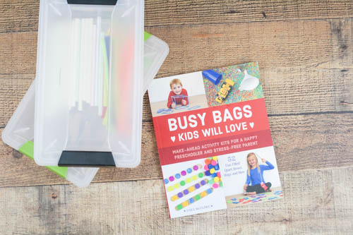 Keep your younger kids occupied this school year using busy bags! Educational, entertaining, simple, and easy. And of course, quiet.