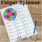 Fidget Spinner Math and Movement