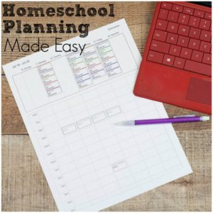 Make planning your homeschool year so much easier with an online homeschool planner that actually meets your needs. Plan your classes with ease.