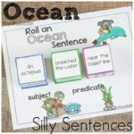 Ocean Silly Sentences for Reading, Writing, and Vocabulary