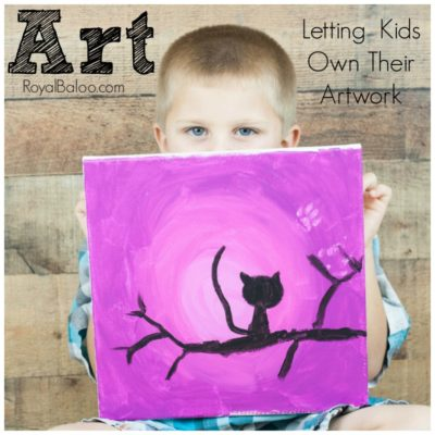 6 Easy Tips to Letting Your Kids Control Their Art