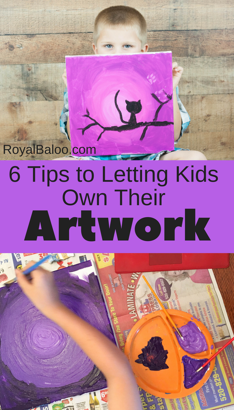 Use kids online art lessons to let go your own art perfectionism and let them create.  Give your kids the ability to learn art by themselves.