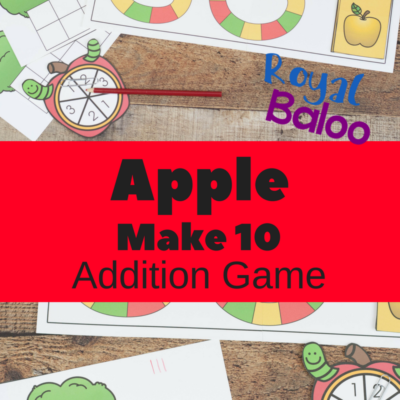 Apple Make 10 Addition Game