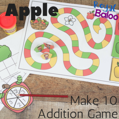Hands on Addition with the Apple Make 10 Addition Game
