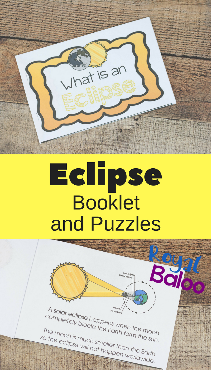 Learn all about eclipses, why they happen, and eclipse terminology with this fun easy reader book! Great for young elementary students.