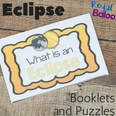 Easy and Simple Eclipse Mini Book with Extras