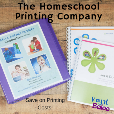 Save Money on Printing with The Homeschool Printing Company