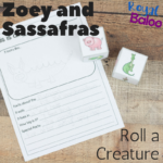Roll a Magical Creature Fun Writing Prompts and Practice