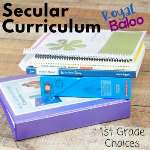 1st Grade Secular Homeschool Curriculum Choices